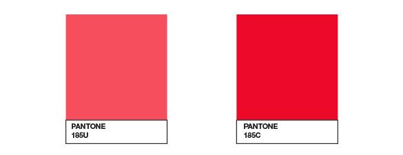 Pantone comparison